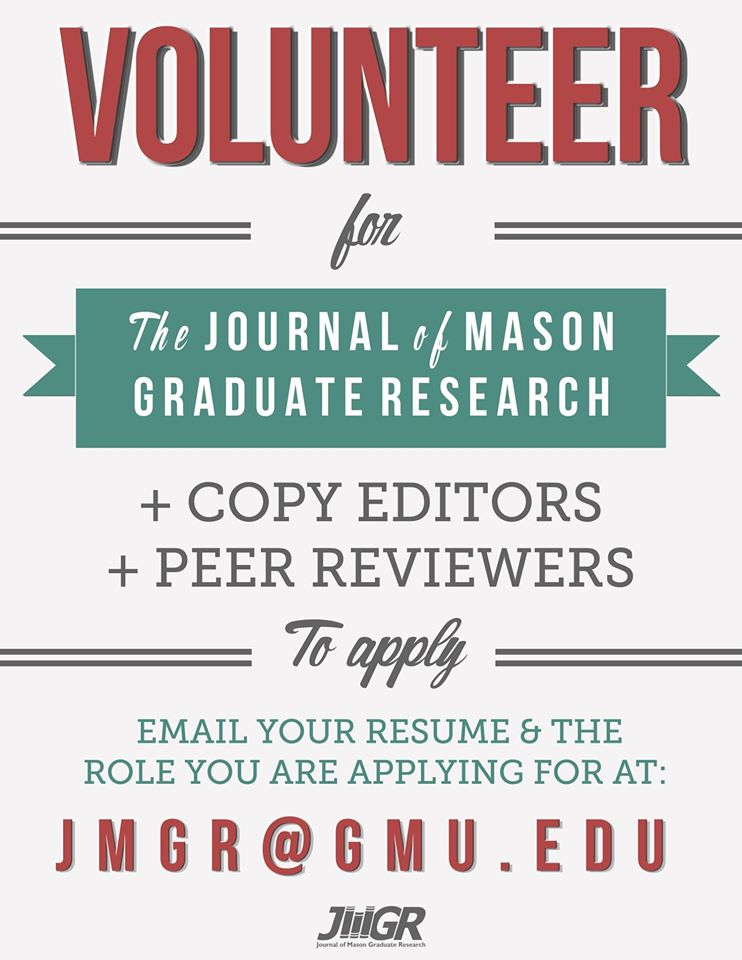 Journal Of Mason Graduate Research